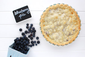 Eating seasonally – through pie: Blueberry