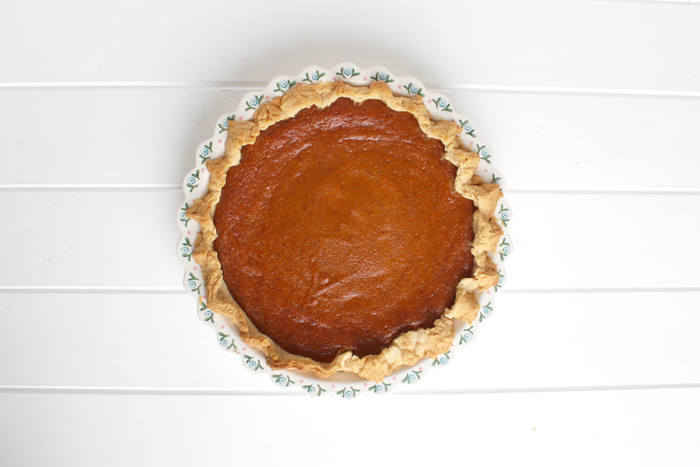 Pumpkin pie - blondewalk
