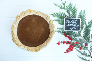 Eating seasonally – through pie: Sweet potato