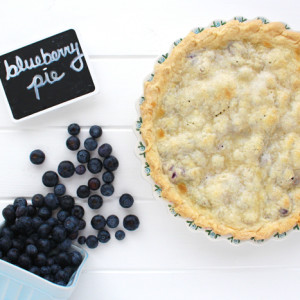 BWPieChallenge: Blueberry pie