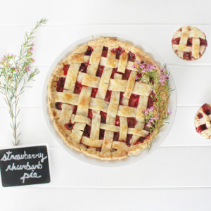 BWPieChallenge: Strawberry rhubarb