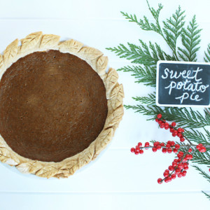 BWPieChallenge: Sweet potato pie