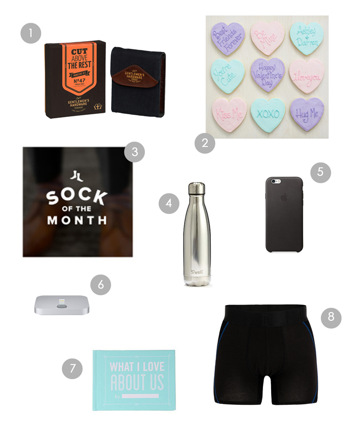 Valentine's gifts for him - blondewalk