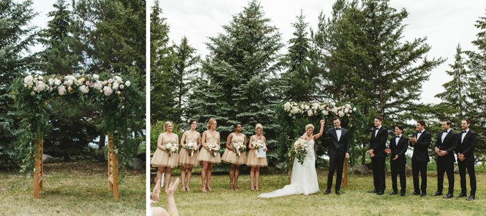 Garden wedding-blondewalk