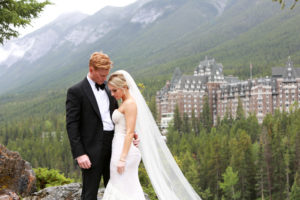 Samantha & Dustin's romantic Banff wedding